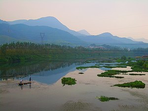 On the Fushui River (Yangxin County)