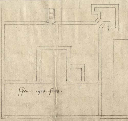 Yarmouth castle plan 1559