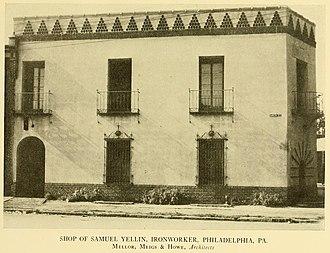 Samuel Yellin - Yellin Studio (1915).