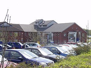 Wrexham Maelor Hospital - Image: Ysbyty Maelor Wrecsam. (Wrexham Maelor Hospital) geograph.org.uk 161697