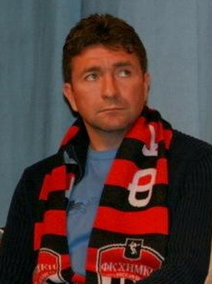 Yuri Drozdov (footballer) - Image: Yuri Drozdov 2008