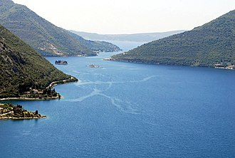 Adriatic Sea - Bay of Kotor, a ria in the Southern Adriatic