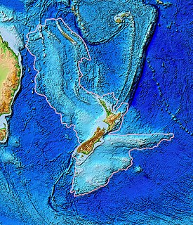 Lord Howe Rise A deep sea plateau from south west of New Caledonia to the Challenger Plateau, west of New Zealand