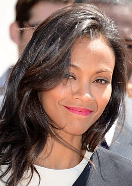 Zoë Saldana in Cannes in 2013