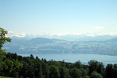Lake Zürich  Zürichsee -