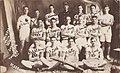 """Deseronto Fire Team won first prize Belleville, June 3, 1914, time 33 sec"". Picture taken at James Fairbairn's studio in Deseronto, Ontario. (2803507628).jpg"