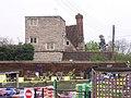 """King John's Castle"" behind the Mythe Nurseries - geograph.org.uk - 4937.jpg"