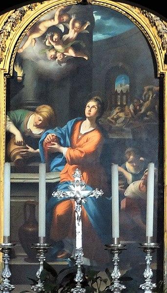 "File:""Santa Prassede"" di Domenico Maria Muratori 1753.jpg"