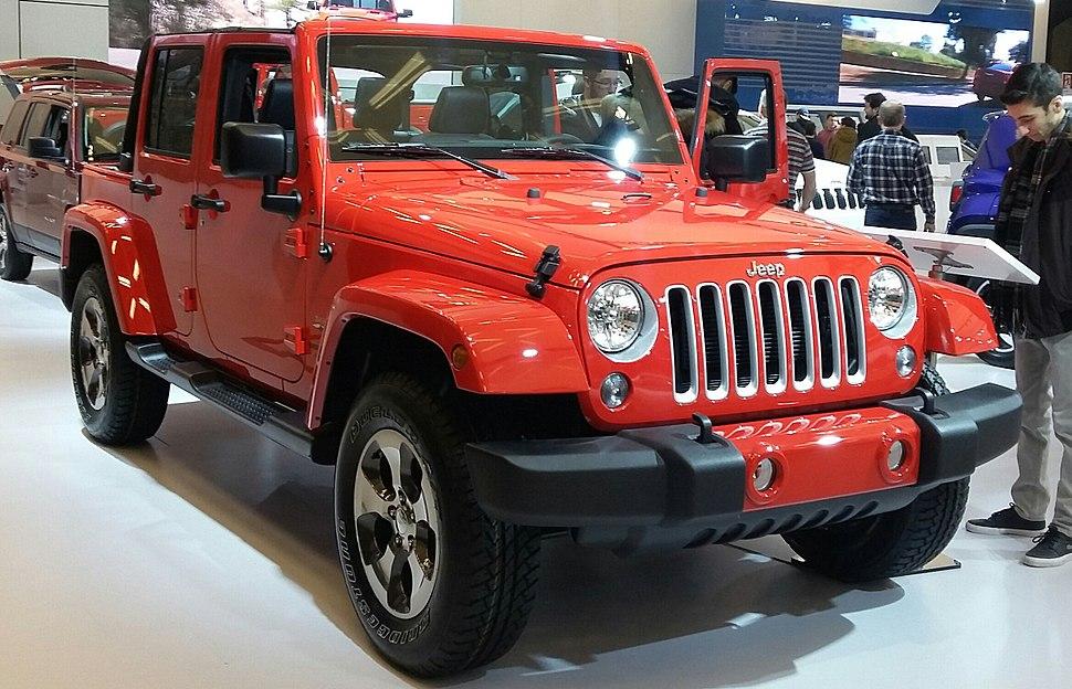 '16 Jeep Wrangler Unlimited (MIAS '16)