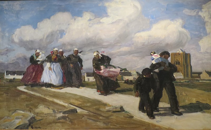 Fichier:'A Gust of Wind' by Lucien Simon, Pushkin Museum.JPG