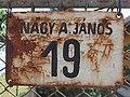 'Nagy A. János 19' Hausnummer, 2021 Hódmezővásárhely.jpg