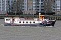 'The Edwardian' charter boat at Greenwich, London 02.jpg