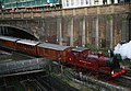 'Train 150' steaming under Ray Street and over the Thameslink Bedford to Brighton line. - panoramio.jpg