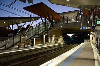 Cheltenham railway station, Sydney