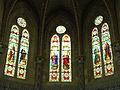 Église Sainte-Hélène de Hourtin vitrail autel.JPG