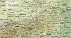 Höhenmeter Karte Deutschland.Topografische Karte Wikipedia