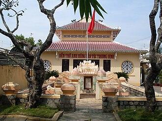 Trương Định - Tomb of Trương Định in Gò Công, Tiền Giang, Vietnam