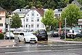Вадуц, центр. Стоянка автомобилей и автобусов. - panoramio.jpg
