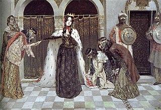 Return of Queen Zabel of Armenia