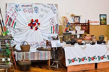 етнографічна експозиція «Українська оселя»