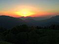 Закат с Майкопского перевала.JPG
