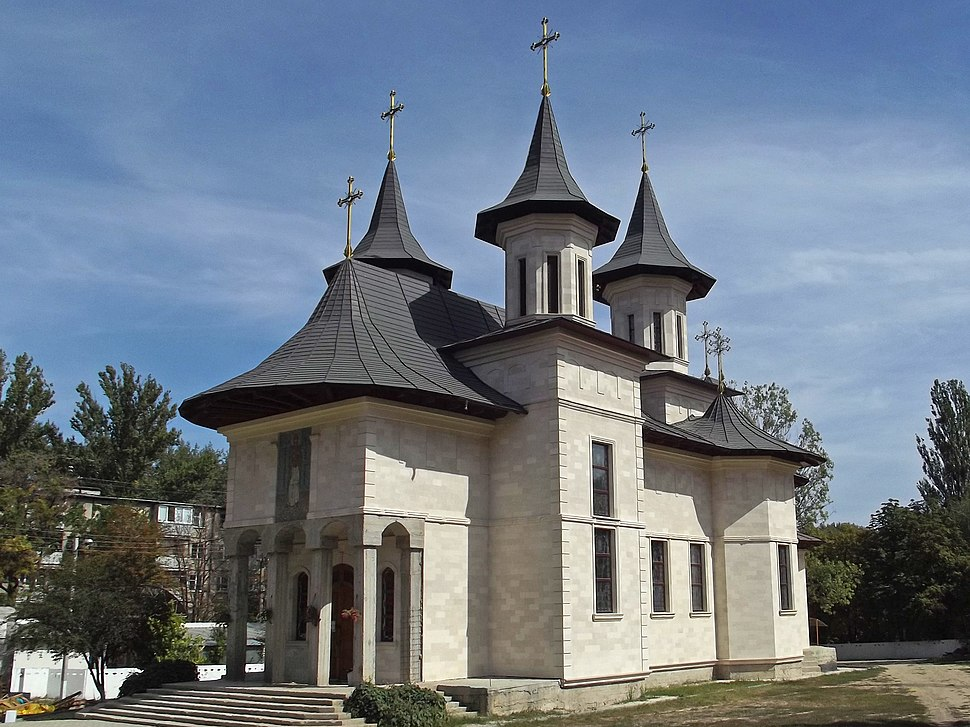 Кишинёв. Новая церковь.