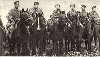 Donbass-Don Operation (1918) - Rudolf Sivers and a Red Guards detachment