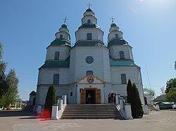 Новомосковський Троїцький собор, 18 ст. (центральний вхід).JPG