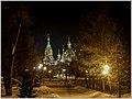 Ночной Челябинск. Храм на Алом поле - panoramio (1).jpg