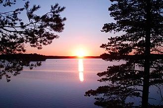 Vyborgsky District, Leningrad Oblast - Lake Zerkalnoye in Vyborgsky District