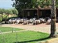 Ресторан отеля. Candia Park Village. Crete. Greece. Июль 2013 - panoramio.jpg