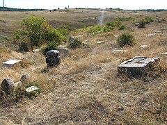 Старовинне караїмське кладовище на Тепе-Оба 01