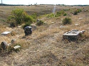 Crimean Karaites - Cemetery near Feodosia (Crimea)