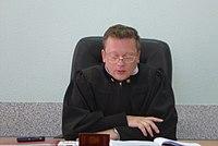 Судья Ленинского районного суда города Екатеринбурга Александр Суслов 10 июня 2019 года.jpg