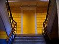 Усадьба Нечаевых-Мальцевых, главный дом, левое крыло, лестница на второй этаж.jpg