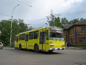 VMZ (Vologodskiy mechanical plant) - Image: Шкода на Левичева
