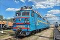 Электровоз ВЛ80С-2389 (ТЧ-2 Котовск) на запасных путях ТЧ-4 Жмеринка. - panoramio.jpg