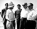 נחום גולדמן ומשה קול באשדוד מרץ 1958 הארכיון הציוני.jpg