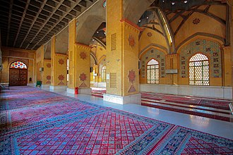 Mir-Hossein Mousavi - The Hafte Tir bombing victims' mausoleum, which is designed by Mousavi