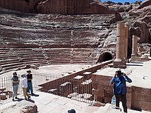 A gallery of eight thousand stone carvings in Petra.!