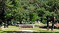 「第45回全日本総合馬術大会2015」でクロスカントリーコースに設定された「日本庭園」周辺の風景.JPG