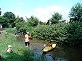 北山公園わんぱく祭り 北川でカヌー体験 - panoramio.jpg