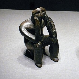 Prehistory of Southeastern Europe - The Thinker of Hamangia, Neolithic Hamangia culture (c. 5250-4550 BC)