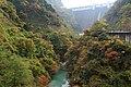 浦山ダム~紅葉 - Urayama-dam - panoramio.jpg