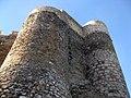 021 Castell de Montsoriu, torres nord-est i nord.jpg