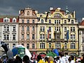 037 Staroměstské Nám., casa de l'Estel d'Or i edifici de les Assegurances.jpg