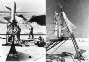 Early research rockets at Wallops Island