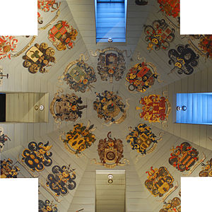 Waag, Amsterdam - Ceiling of the anatomical theatre
