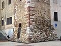098 Base de la torre del Rellotge, base de l'antic castell d'Olesa.jpg