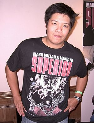 Leinil Francis Yu - Yu at the Big Apple Comic Convention in Manhattan, October 2, 2010.